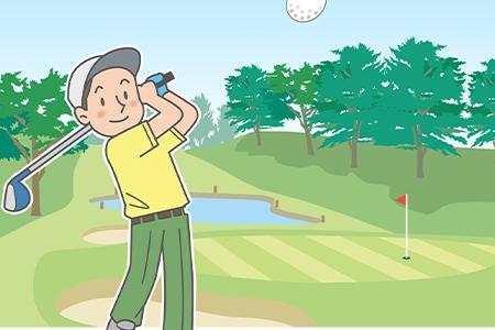 ゴルフプレー